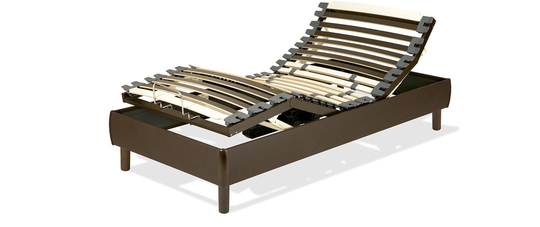 Cama articulada madera. Bastidor 18 cm. | Laxy