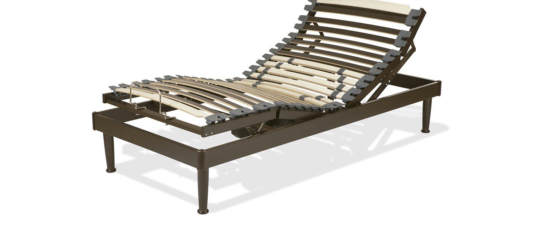 Cama articulada madera. Bastidor 8 cm. | Laxy